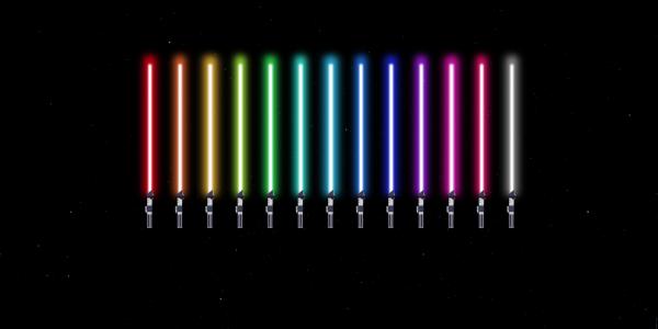 lightsabers css