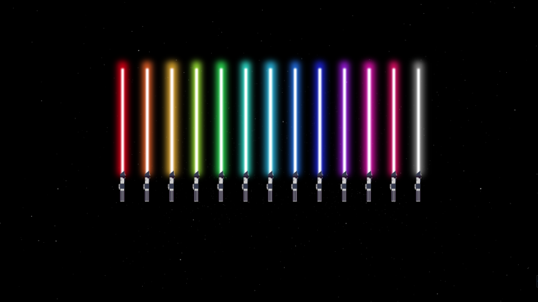 the creation of the lightsaber with css animation zcode